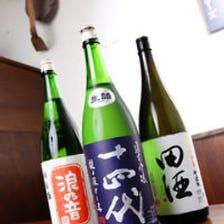 知る人ぞ知る!大将オススメの日本酒