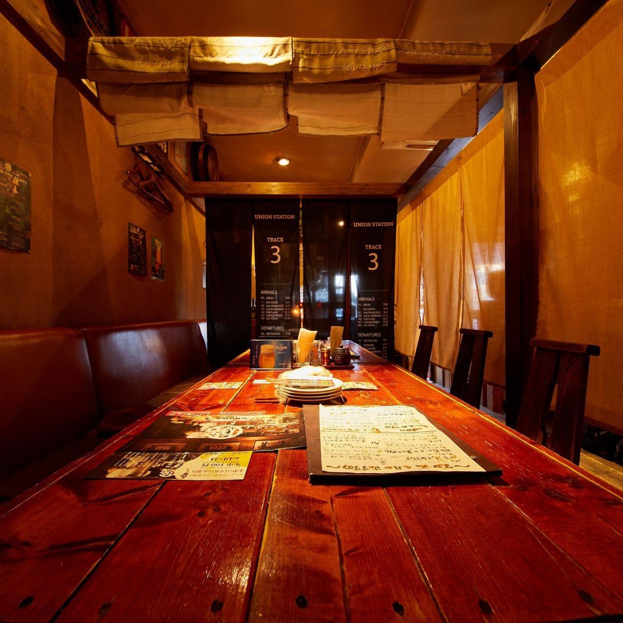 【リニューアル】宴会に人気の半個室