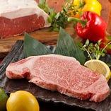 鉄板焼きで人気の牛ステーキは厳選国産黒毛和牛を使用【栃木県】