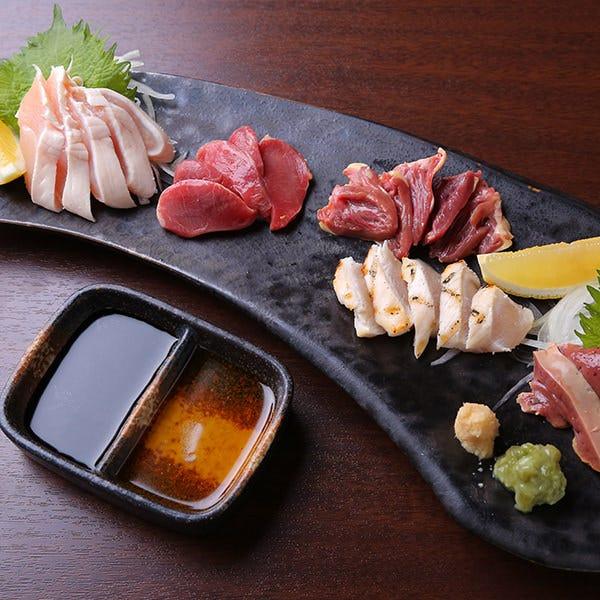 《飲み放題付き》新鮮な九州の【 朝びき鶏コース 】3,500円