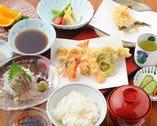 天ぷら主役のコースはご接待やご会食に。ご予約は、5590円より。