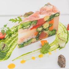 【MENU Cコース】~お好きな 前菜・メイン料理・デザートが選べるランチコース~〈全5品〉