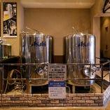 吹田工場より直送される、生ビールは鮮度抜群の格別なうまさ!