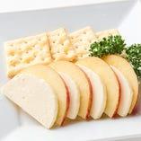リンゴとクリームチーズのハーモニー