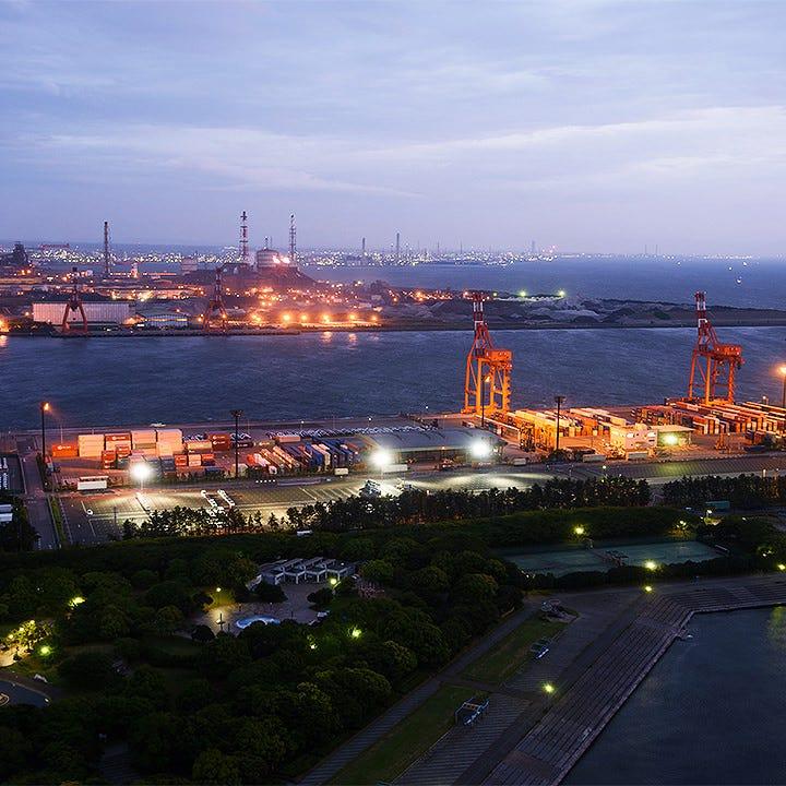 日本夜景遺産にも登録された地上109mの絶景をお愉しみください