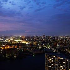 地上109m 日本夜景遺産登録の眺望
