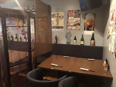 鉄板肉バル みやじま亭 国分寺店 店内の画像