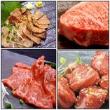 A4和牛を使用した絶品お肉料理の数々