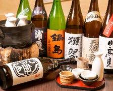 焼酎・日本酒の良い物が揃ってます。