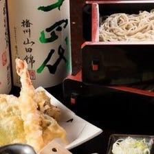 あじめんの自慢のそばや巻き寿司