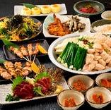 選べる鍋付コース4,000円(税込)が今年一番のおすすめコース!