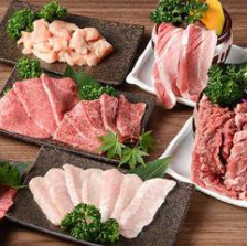 良質なお肉を食べ放題で!