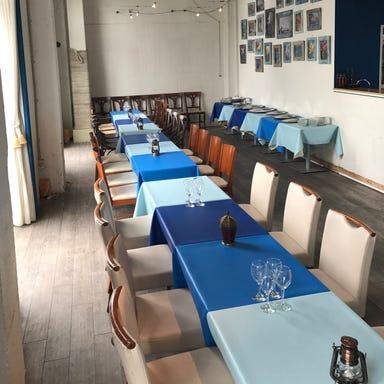 船にも乗れるレストラン キャプテンズワーフ 天王州アイル 店内の画像