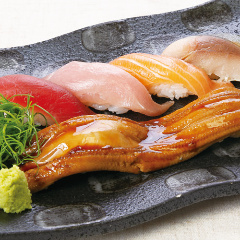 一本穴子と特選握り寿司