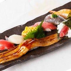 一本穴子と特選にぎり寿司