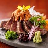 福島県産黒毛和牛の牛ヒレを贅沢に使用した逸品は極上の旨味