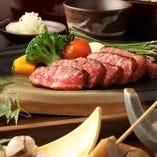旬食材を使用した会席コースは全5品6500円~ご提供致します。