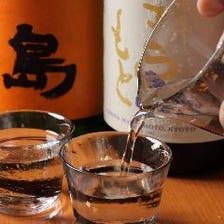 和食とよく合う日本酒が勢揃い