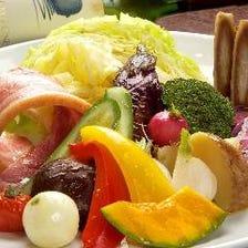 All北海道野菜のスチームサラダ♪