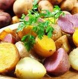 野菜も美味しいんです!道内各地から産地直送のお野菜を使用☆