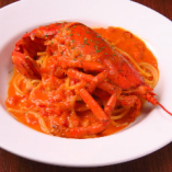 オマール海老のトマトクリームスパゲッティ