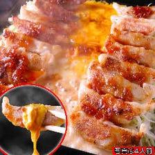 ◆黒豚チーズ餃子フォンデュ