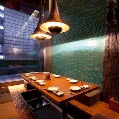 美食米門の個室空間