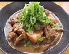 もつ味噌煮込豆腐