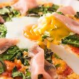 【自家製ピザ】 AGIOオリジナルpizza!一度食べたらやみつき!