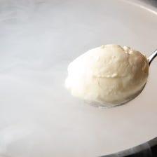液体窒素アイスクリーム