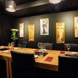テーブル席個室(5~10名様)
