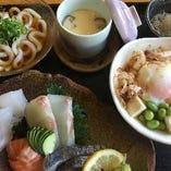 ロカボ刺身定食