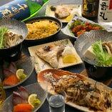 【2時間飲み放題付】当店のコスパNo1「季節替りの宴会コース」