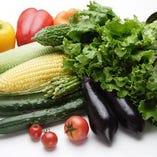 提携農家からの新鮮野菜を仕入れ【北海道十勝郡浦幌町】