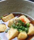 島豆冨を使った料理も充実。心もからだもほっこりします。