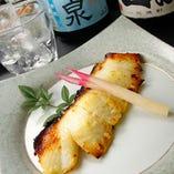 冬の大人気商品「白身魚の西京焼」。