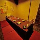 ◆寛ぎの個室◆ 店内奥には個室も御座います!予約はお早めに!
