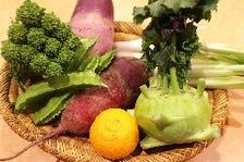 和の旬食材を中華に。季節感を重視。