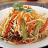 干豆腐サラダ