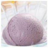 紫いもアイスクリーム