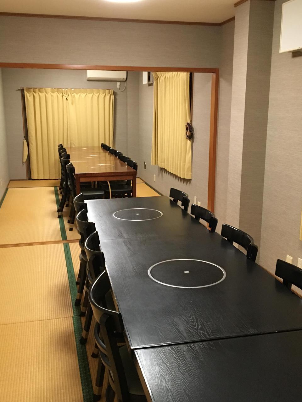 大小個室完備。ごゆっくりお食事を!
