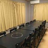 お座敷個室・テーブル個室と大小人数に合わせられる個室を完備