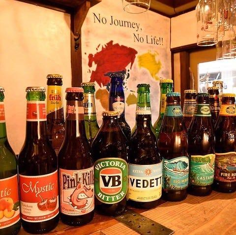 世界各国のクラフトビール