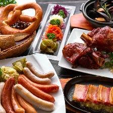 ドイツの家庭料理をご堪能ください!