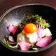 京豆腐をと湯葉を使用した特製サラダ