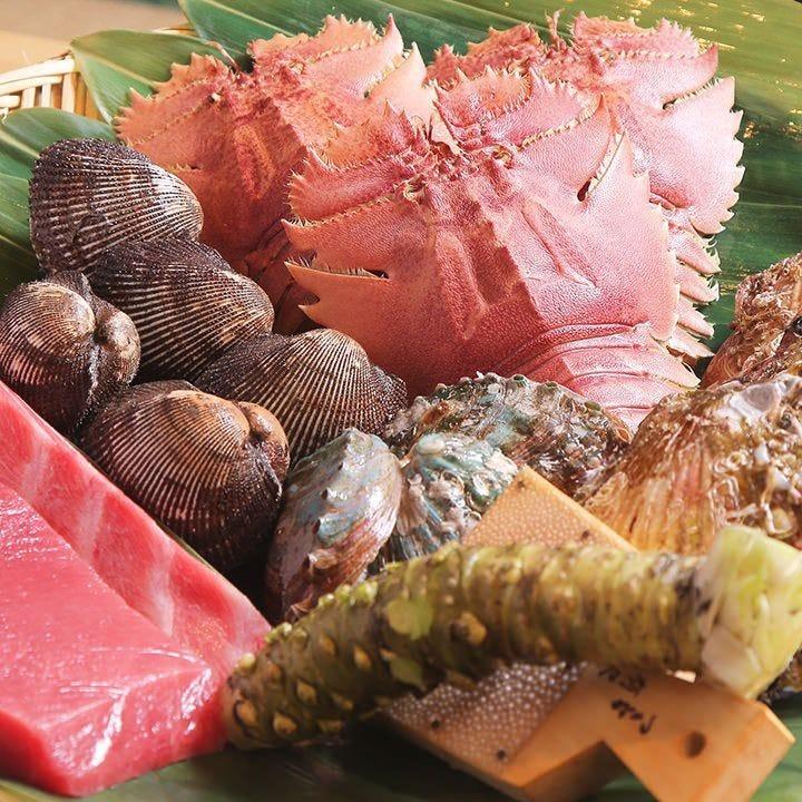 《旬の逸品料理》お寿司だけではない