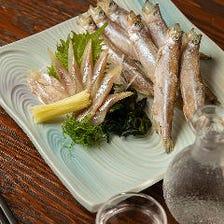 【鵡川産】本柳葉魚(ししゃも)刺身