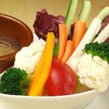 野菜のスティックサラダ バーニャカウダソース