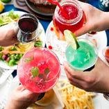 結婚式二次会や同窓会など、大人数でのご宴会にぴったりのプランをご用意しております