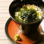 生海苔茶漬け
